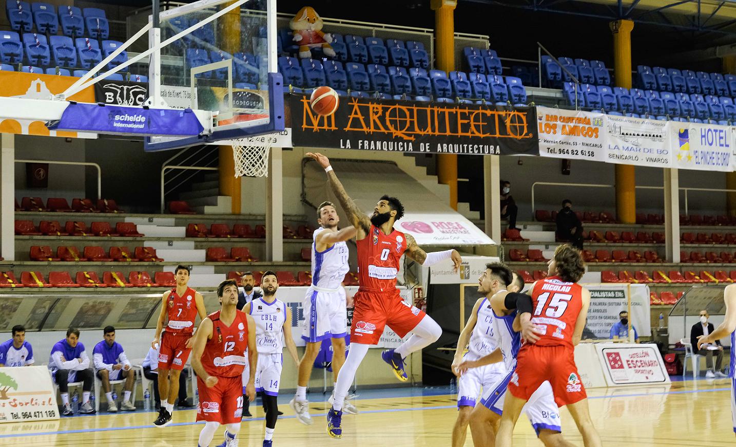 Es trenca la ratxa de victòries de Mi Arquitecto Benicarló davant La Roda (82-75)