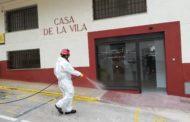 Càlig continua desinfectant periòdicament espais públics i contenidors