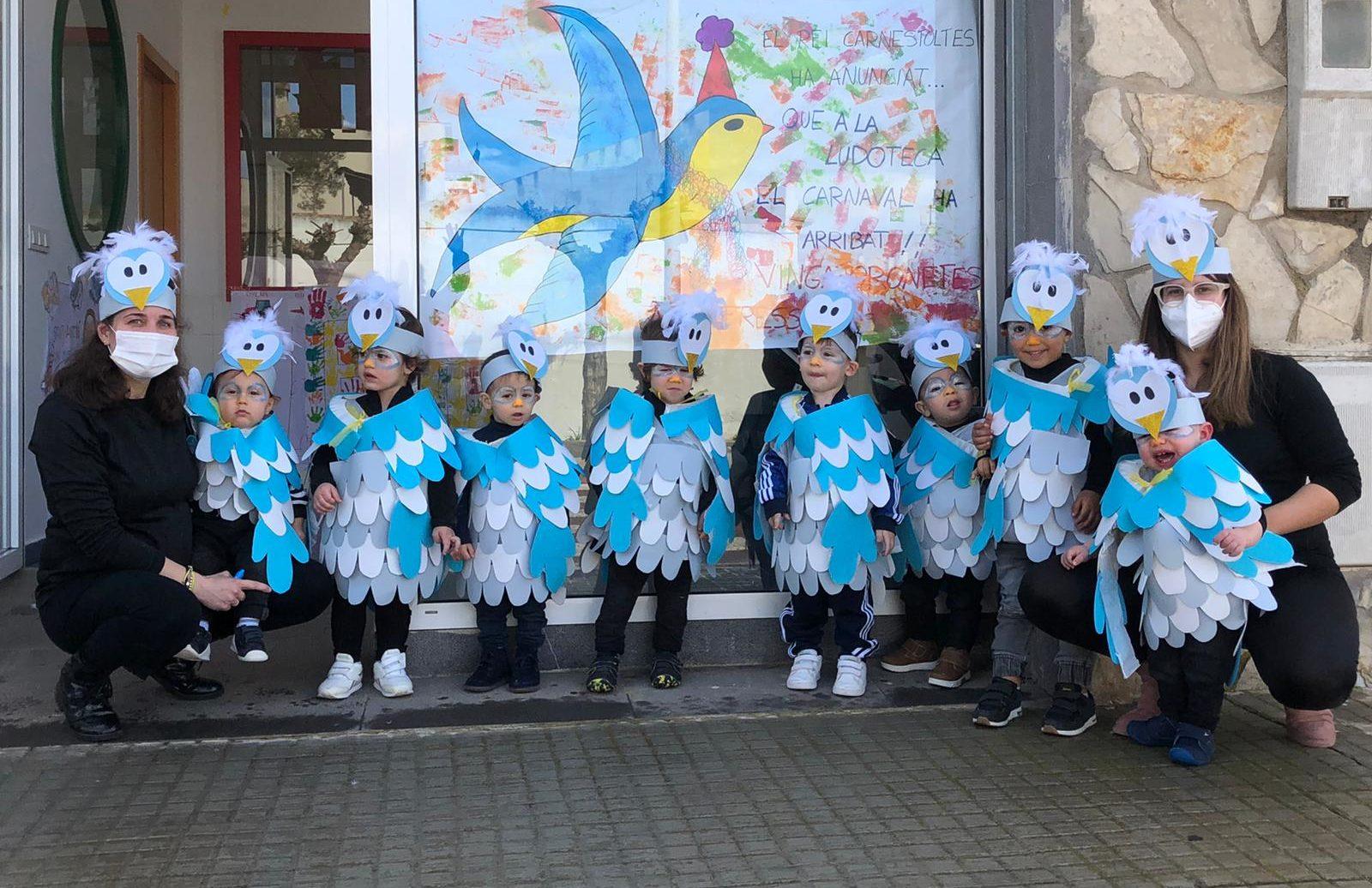 El CEIP AlbertSelmai la Ludoteca Municipal de Santa Magdalena celebren Carnestoltes