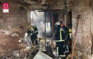 Una persona perd la vida en un incendi d'un habitatge a Ribera de Cabanes
