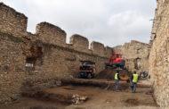 Els treballs arqueològics del Parador de Turisme de Morella superen el 50% de l'execució prevista