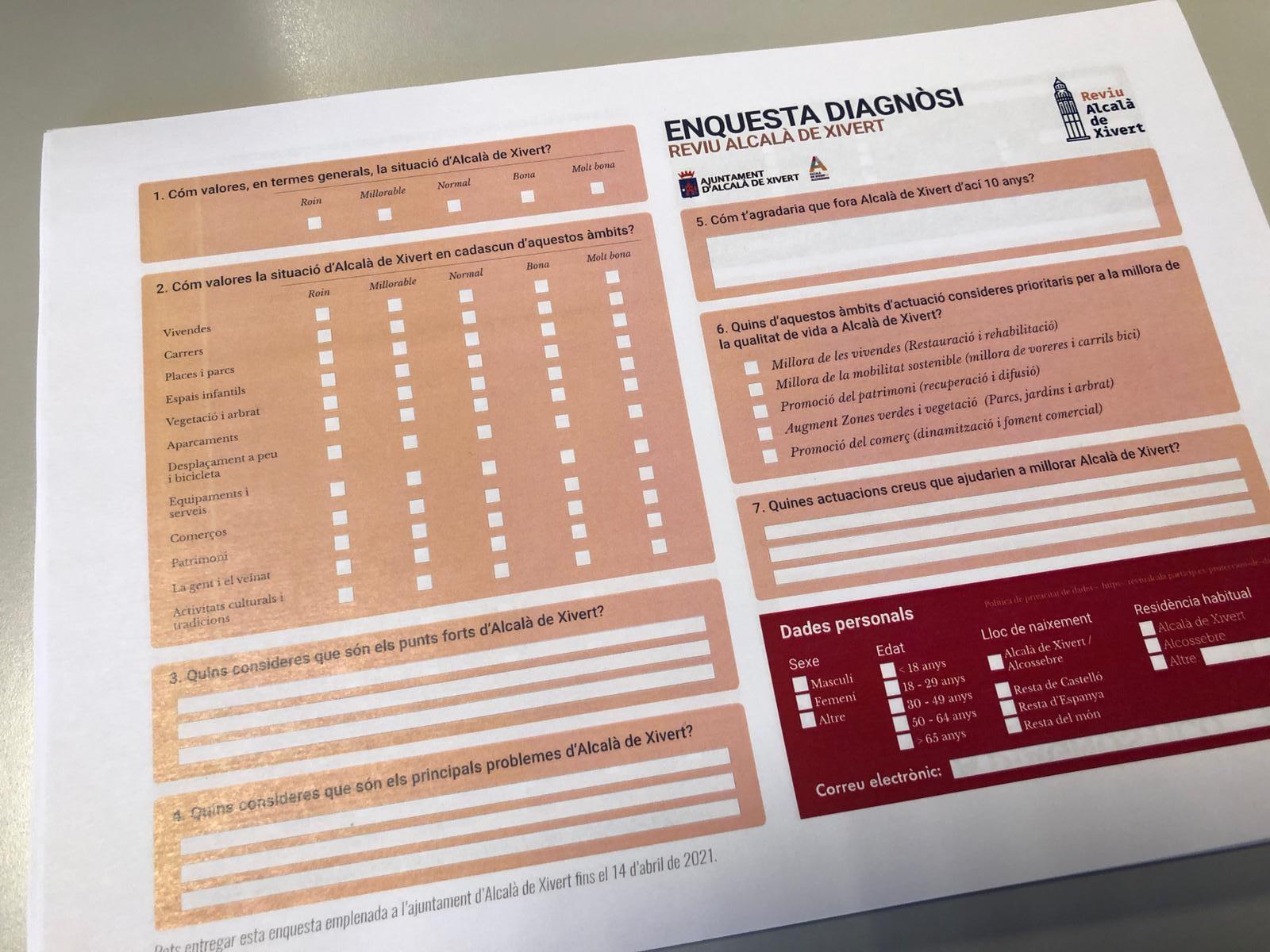 Comença el procés de participació ciutadana del Pla de Revitalització Integral-REVIU Alcalà de Xivert