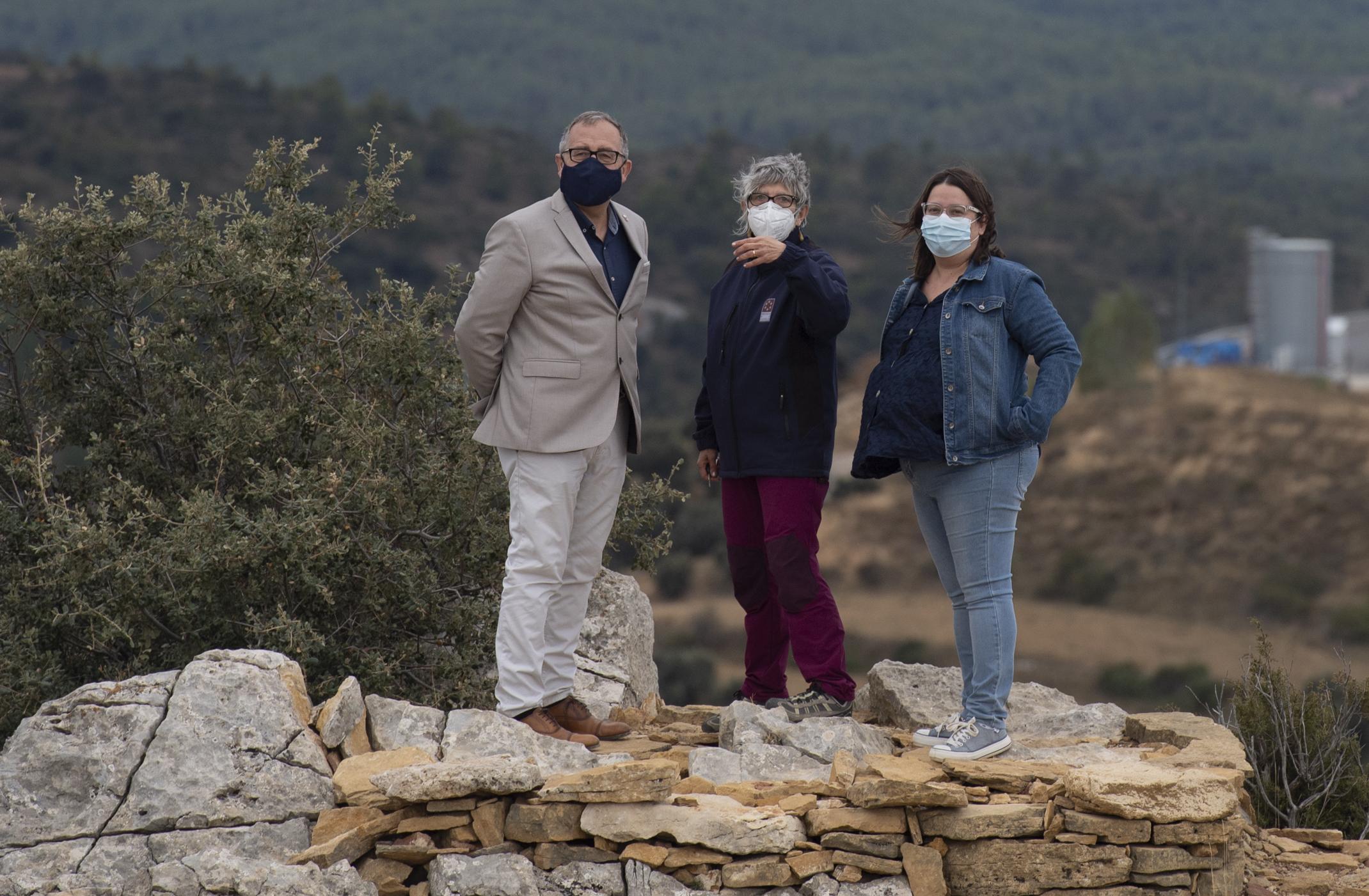 80.000 euros per a rescatar i convertir en fonts de riquesa una desena de jaciments arqueològics