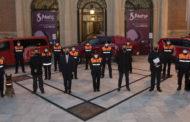 La Diputació celebra el Dia del Voluntariat de Protecció Civil amb un reconeixement al treball del col·lectiu durant la pandèmia