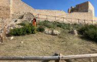 La Diputació neteja el castell de Xivert i prepara intervencions per valor de 40.000 euros