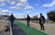 Finalitzen els treballs del nou carril cicloturista del vial Càlig-Peníscola