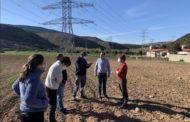Blanch (PSPV-PSOE) visita les zones afectades per la MAT per recollir les sensibilitats i reivindicacions del projecte