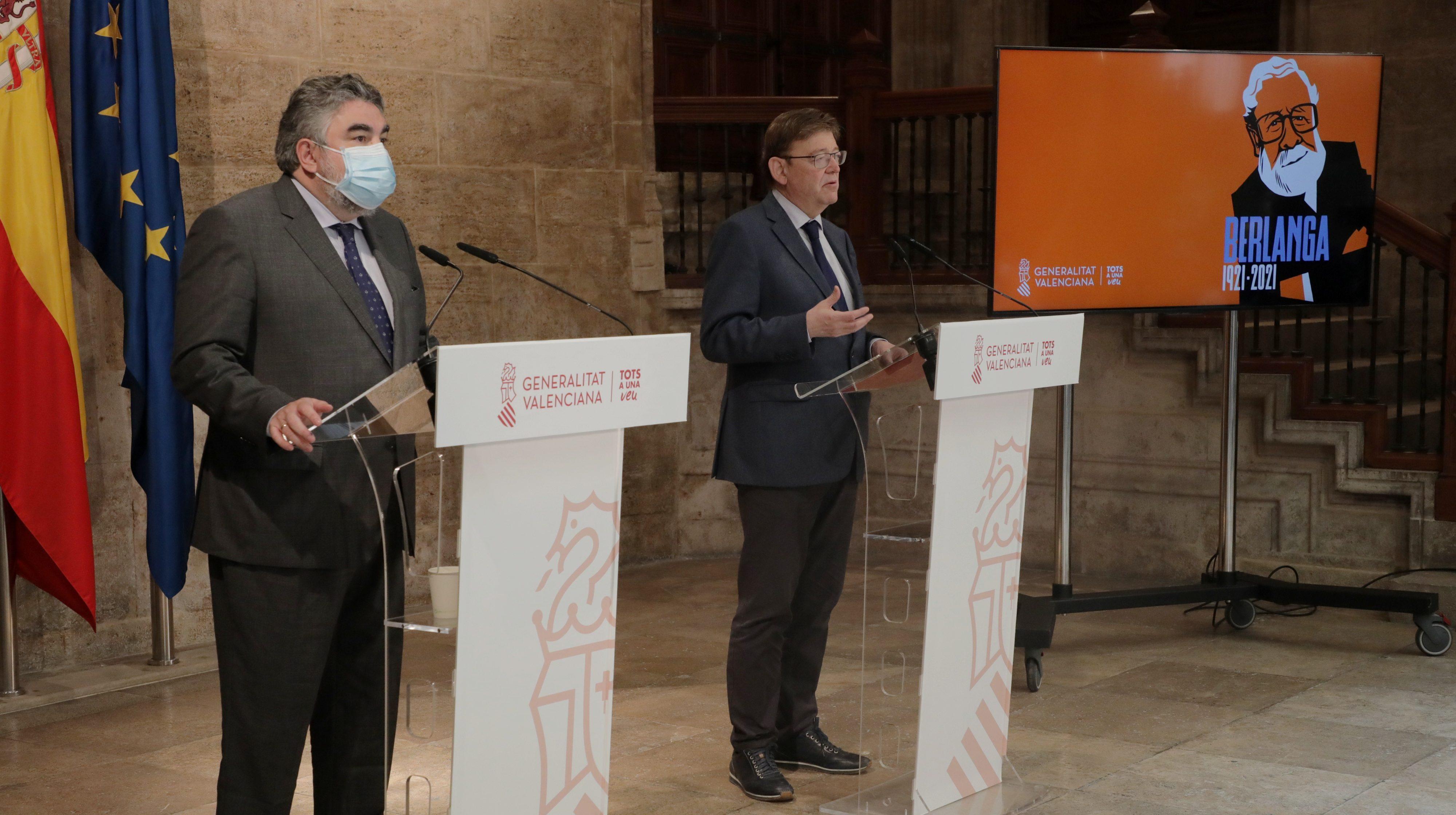 L'Any Berlanga es prorroga fins a juny de 2022 coincidint amb el naixement i els Premis Goya a València