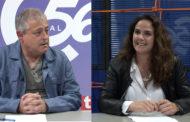 Carmen Morellà, regidora d'Obres i Serveis; i José Chaler, regidor d'Urbanisme a L'ENTREVISTA de C56 30-04-2021