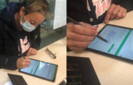 Santa Magdalena implanta la signatura biomètrica en el registre municipal