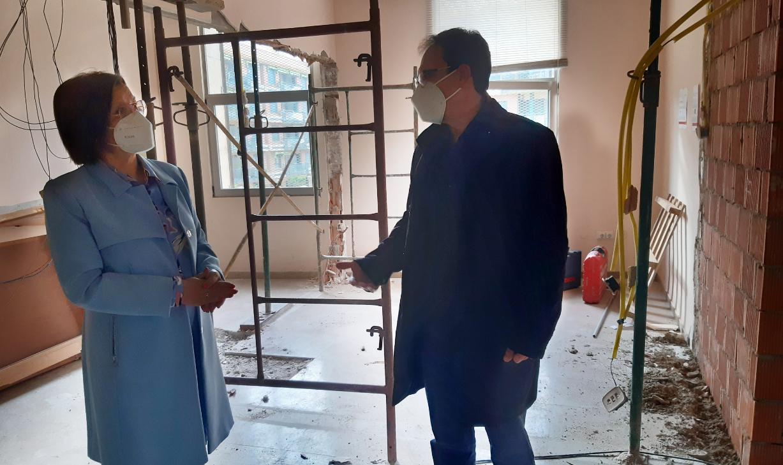 Comencen les obres de millora del Conservatori Mestre Feliu de Benicarló