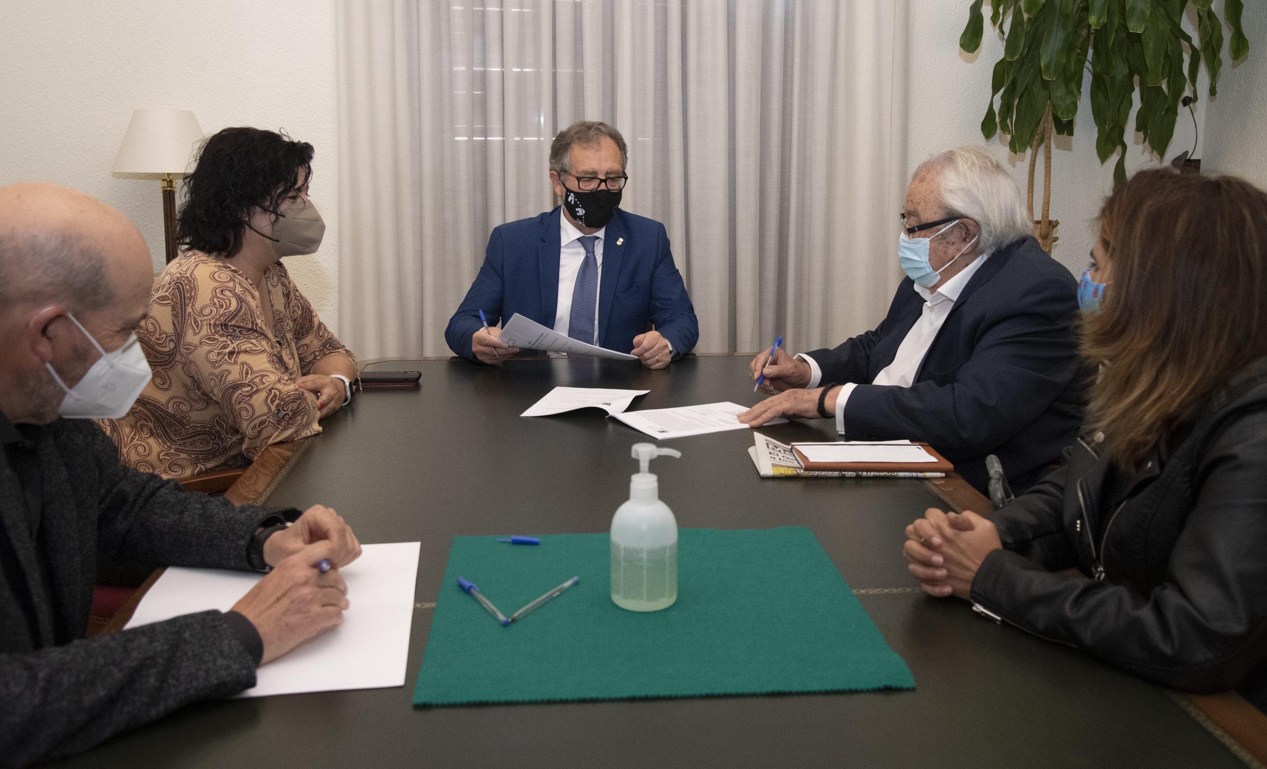 La Diputació donarà suport amb 30.000 euros un projecte de PUNJAB destinat a la salut i les noves tecnologies