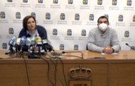 Benicarlo; Roda de premsa de l'alcaldessa i el regidor d'Esports de Benicarló «Piscina Municipal» 21-04-2021