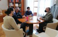 L'Ajuntament de Vinaròs rep al nou subdelegat de Defensa a Castelló, Manuel Monzó