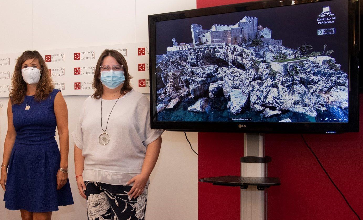 El castell de Peníscola tanca una Pasqua amb xifres pròximes a les registrades abans de la pandèmia
