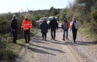 Maquinària del Consorci Provincial de Bombers arranja 20 kilòmetres de pista rural de Càlig