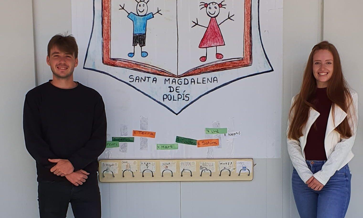 Estudiants de l'UJI realitzen pràctiques de Magisteri en el CEIP AlbertSelmade Santa Magdalena
