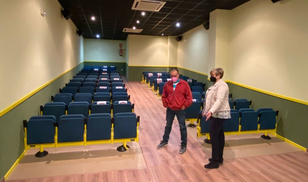 L'Ajuntament de Càlig escomet millores en el Centre de Cultura