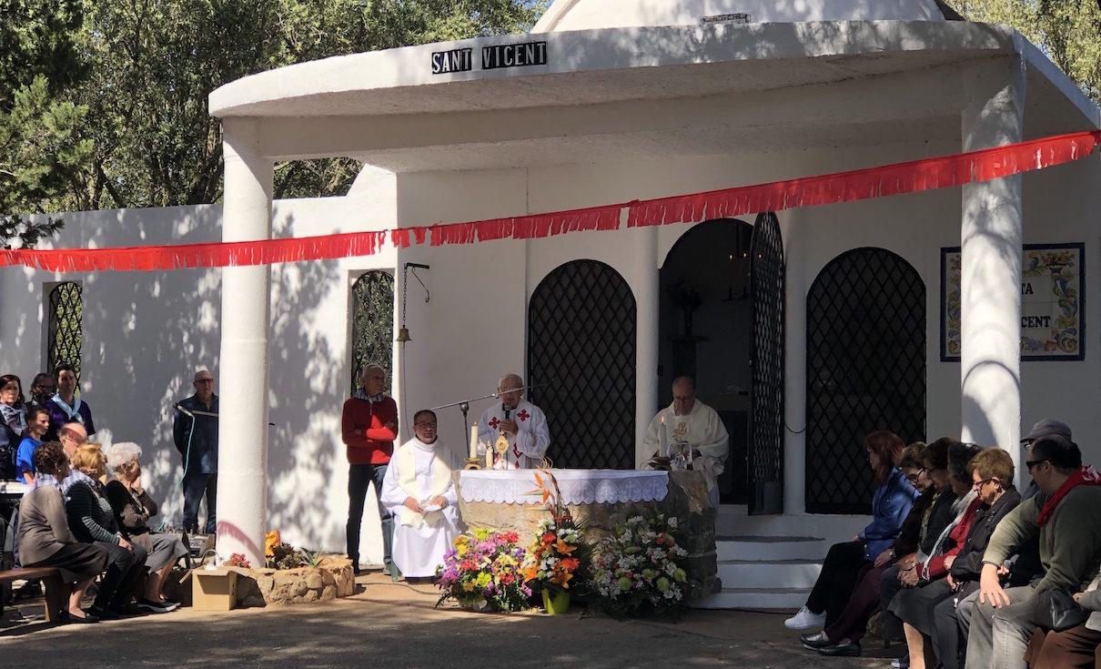 Santa Magdalena suspén la celebració de la festa de Sant Vicent