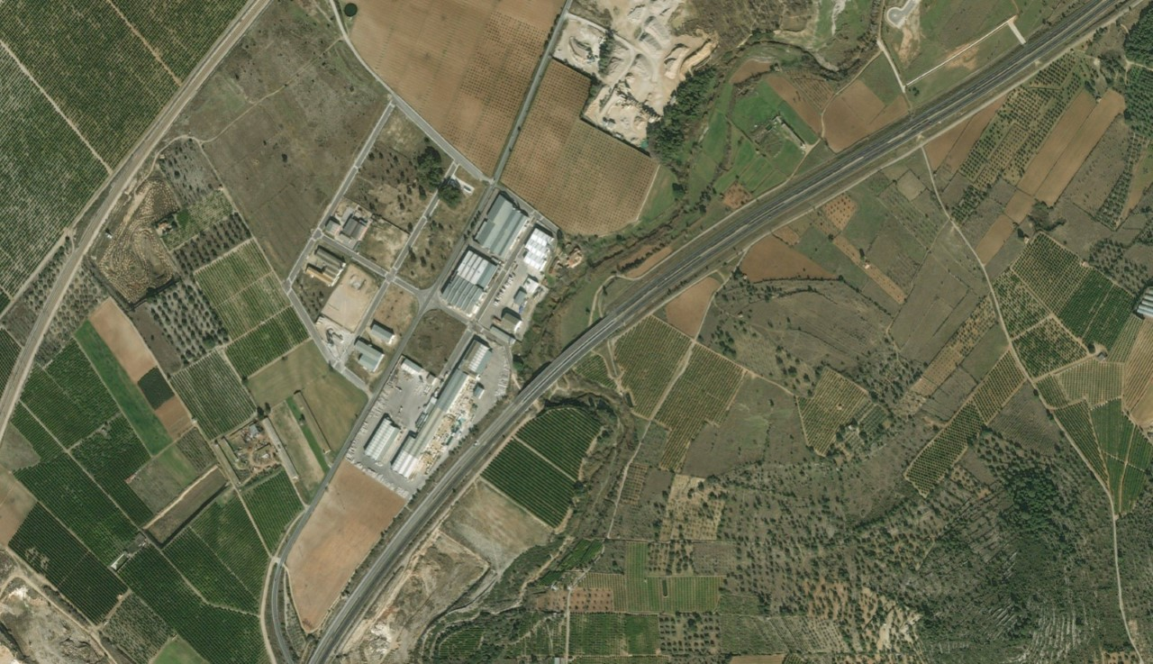 La Generalitat inicia la construcció d'una rotonda d'accés al polígon de Planes Altes de Vinaròs