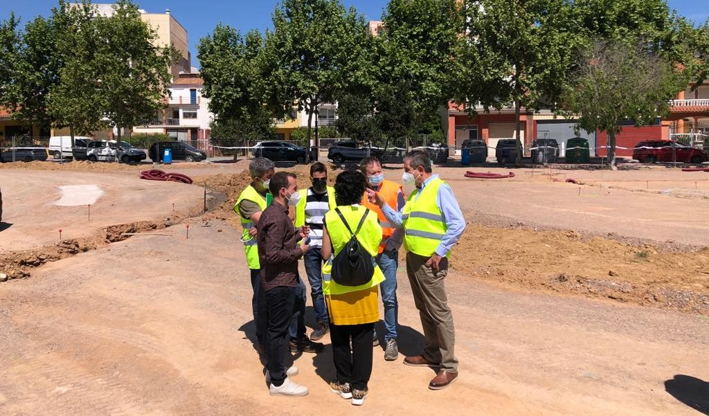 El futur parc d'Alcalà-Alcossebre comptarà amb tirolina, skatepark, jocs infantils naturals i work-out