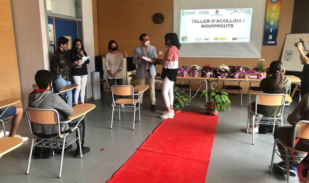 Finalitza el taller per a afavorir la integració de l'alumnat immigrant de l'IES SerraIrtad'Alcalà de Xivert
