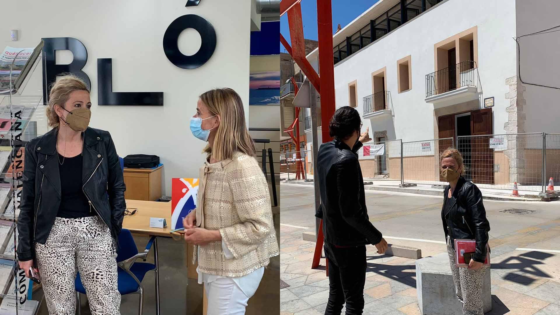 La Diputació aportarà 11.300 euros a lesTouristInfode Benicarló i Vinaròs per a millorar l'atenció als turistes