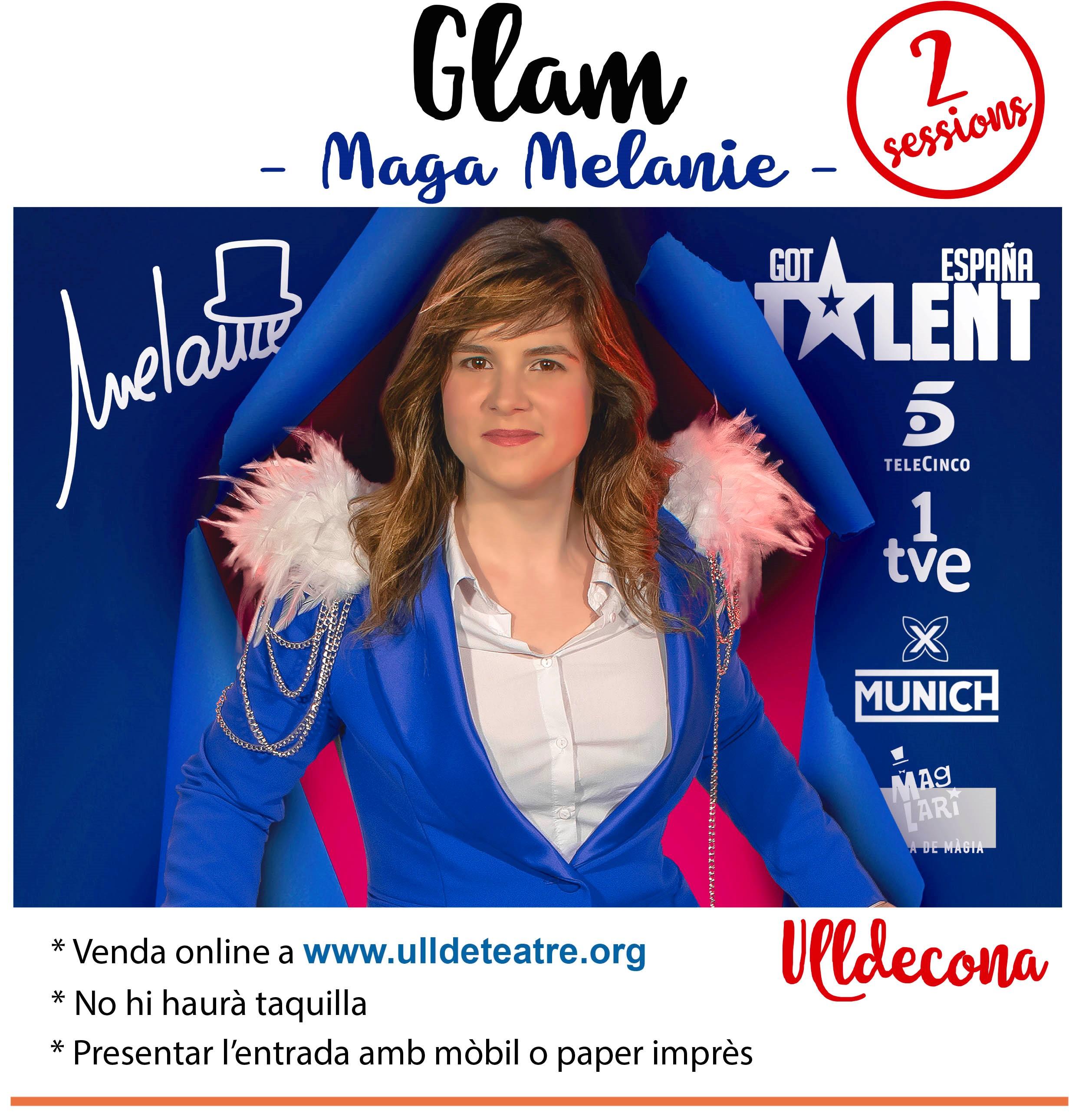 El 15 de maig arriba a Ulldecona la maga Melanie amb l'espectacle