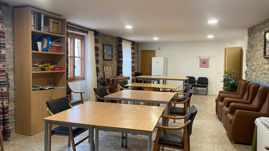 L'Ajuntament de Castellfort millora l'accessibilitat de l'edifici de l'Associació dels Jubilats