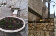 Peníscola intensifica les tasques de millora de la jardineria