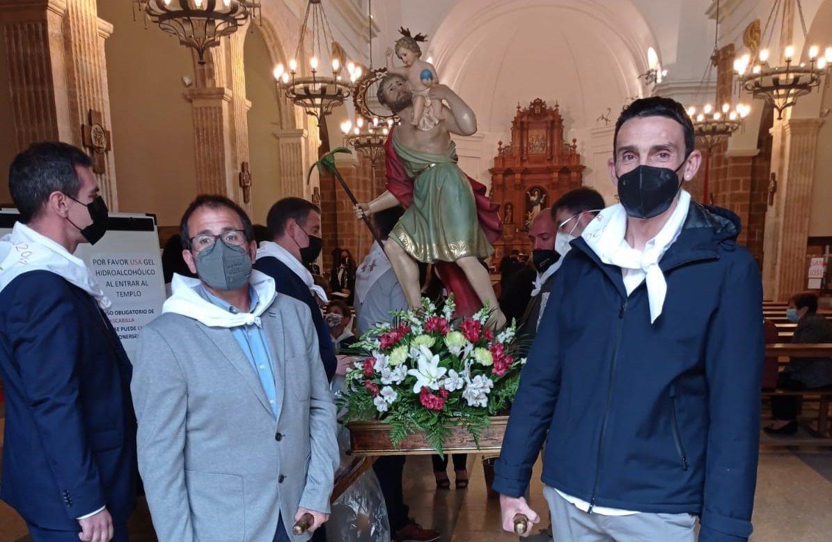 Benassal ret homenatge a Sant Cristòfol