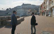 Peníscola encara el final de les obres de reurbanització de l'avinguda de la Mar