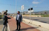 Finalitza la instal·lació d'enllumenat públic en la carretera Peníscola-Benicarló