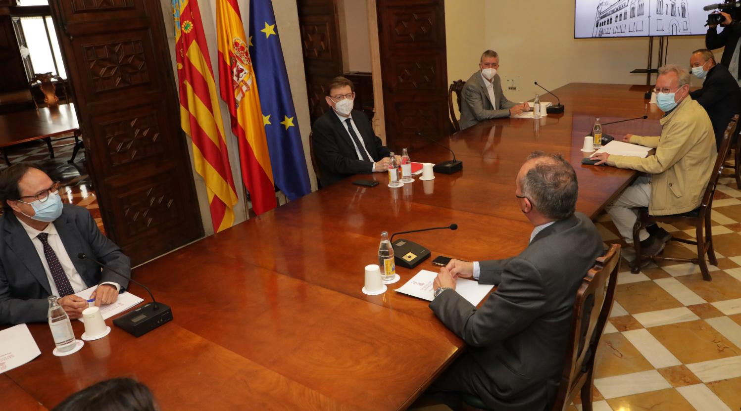 Puig anuncia que el Pla Resistir Plus s'ampliarà a 80 noves activitats econòmiques