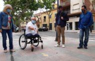 Benicarló millora l'accessibilitat dels passos de vianants a través dels pressupostos participatius