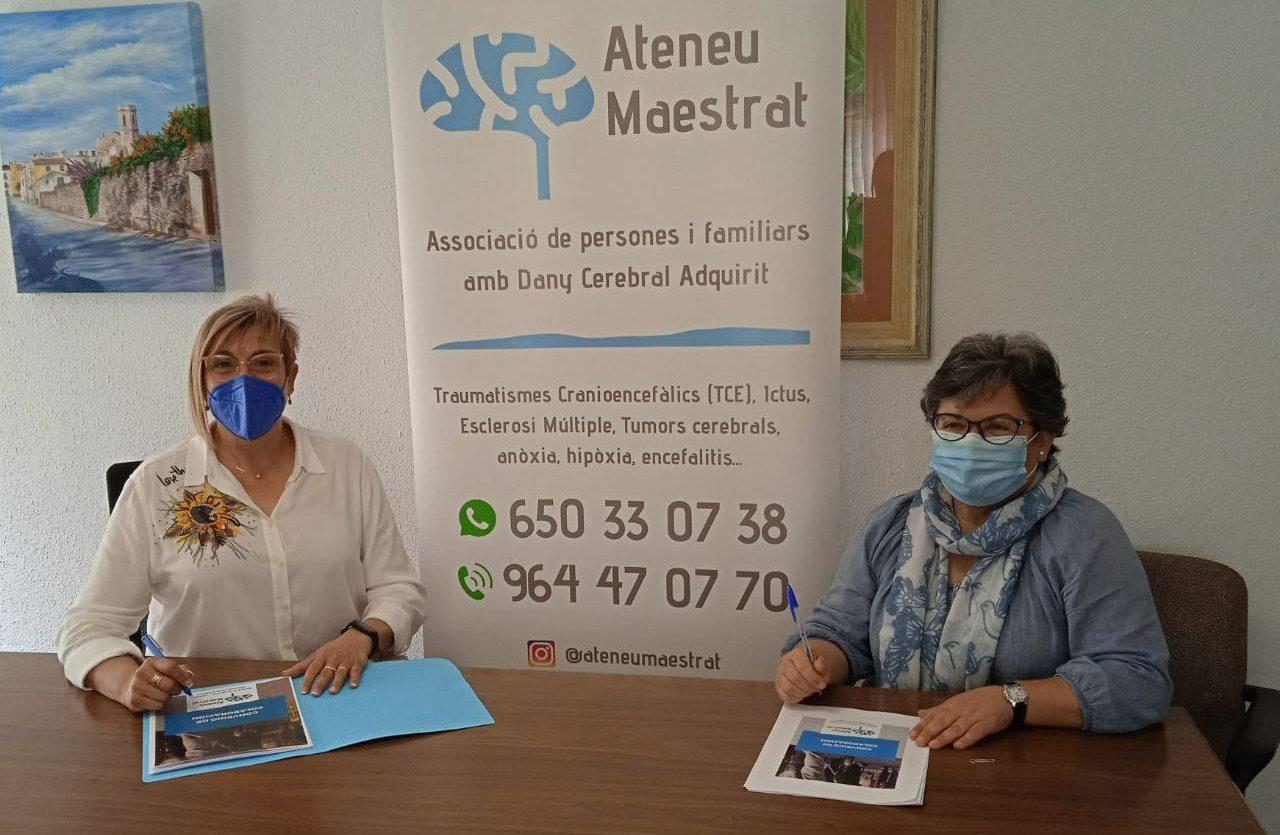 Càlig renova el conveni de col·laboració amb Ateneu