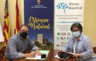 Santa Magdalena i Ateneu Maestrat signen un conveni de col·laboració