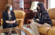 La nova directora territorial de Presidència de la Generalitat visita Benicarló