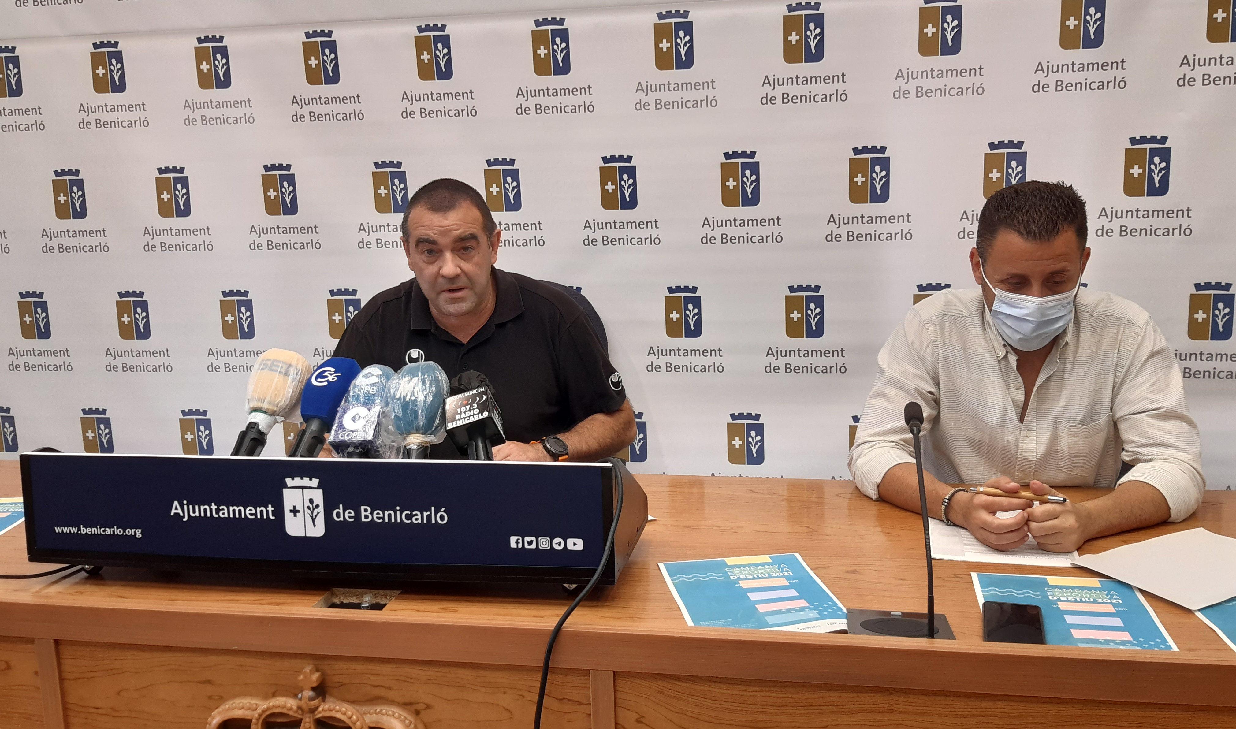 La Regidoria d'Esports de Benicarló presenta la Campanya Esportiva d'Estiu per a tots els sectors de població