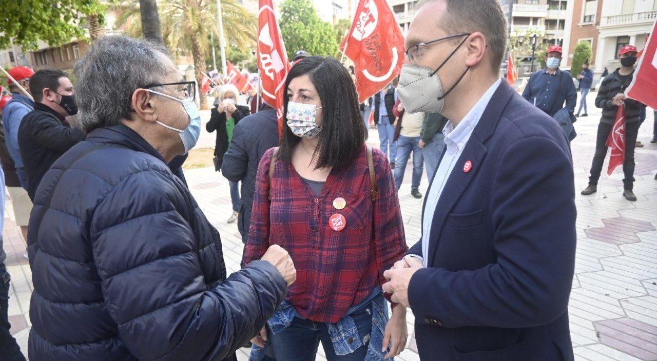 Blanch defensa un 1 de Maig 'més reivindicatiu que mai' en favor dels drets dels i les treballadores