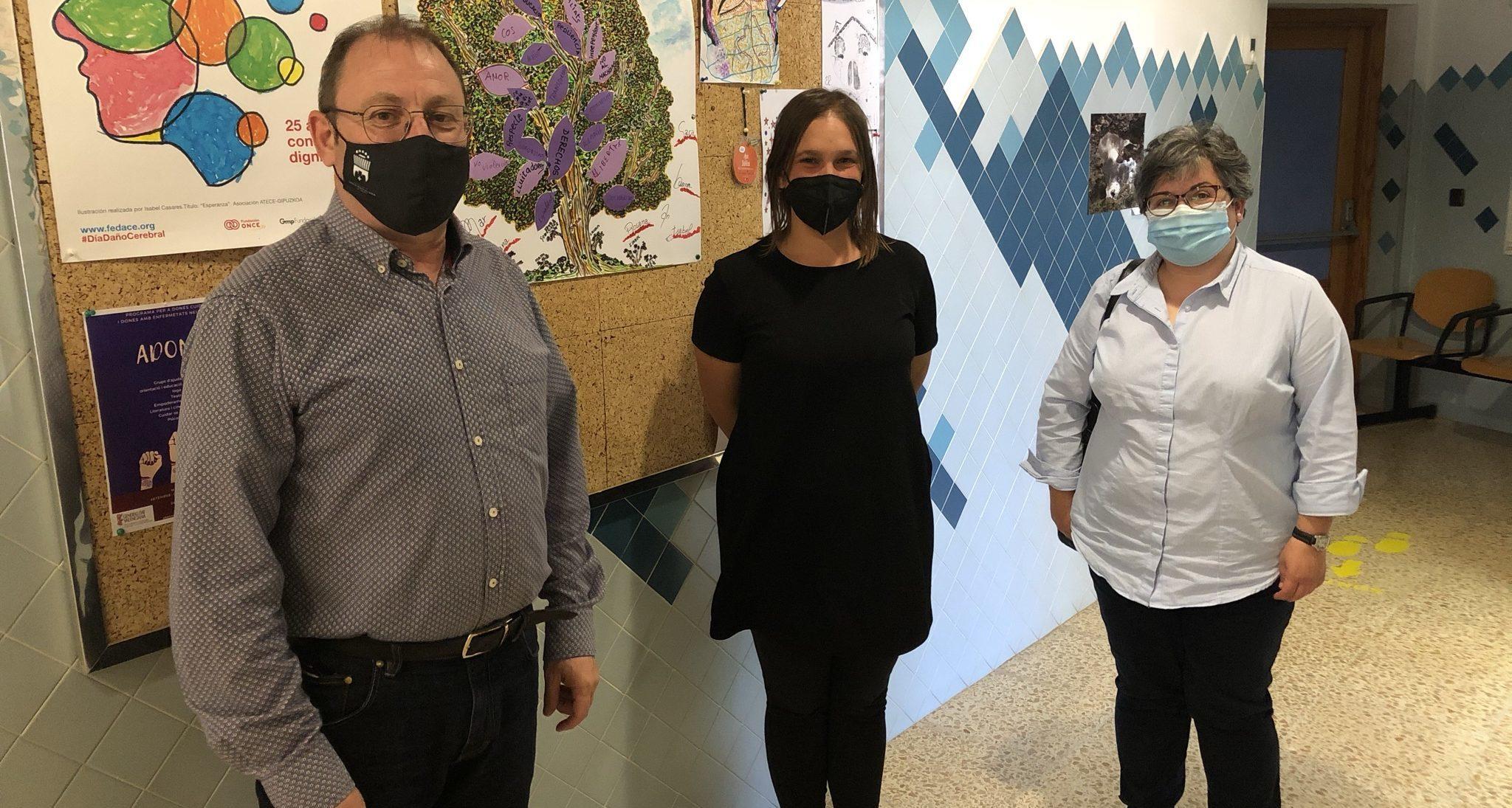 L'alcalde de Santa Magdalena visita les instal·lacions d'Ateneu Maestrat a Benicarló