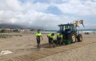 Alcalà-Alcossebre ultima el condicionament de les platges