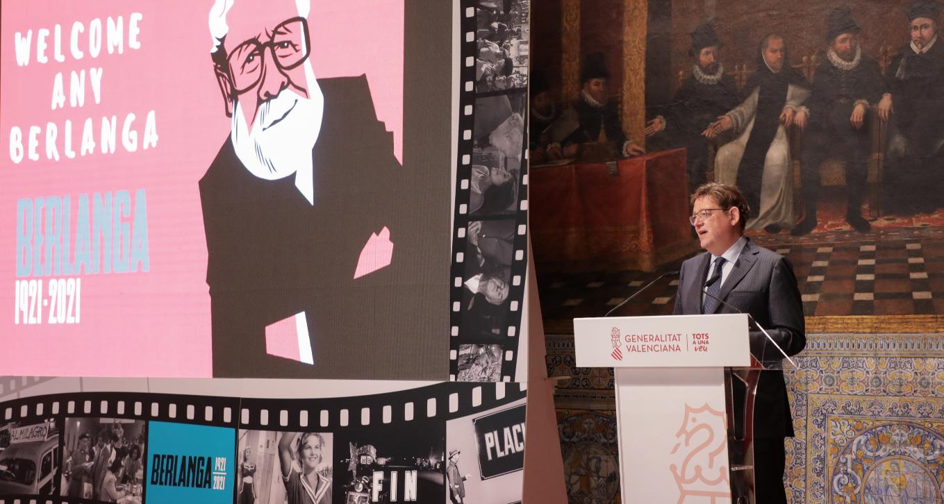 Puig destaca la necessitat d'incorporar a la societat actual la mirada berlanguiana 'irreverent, crítica i mordaç'