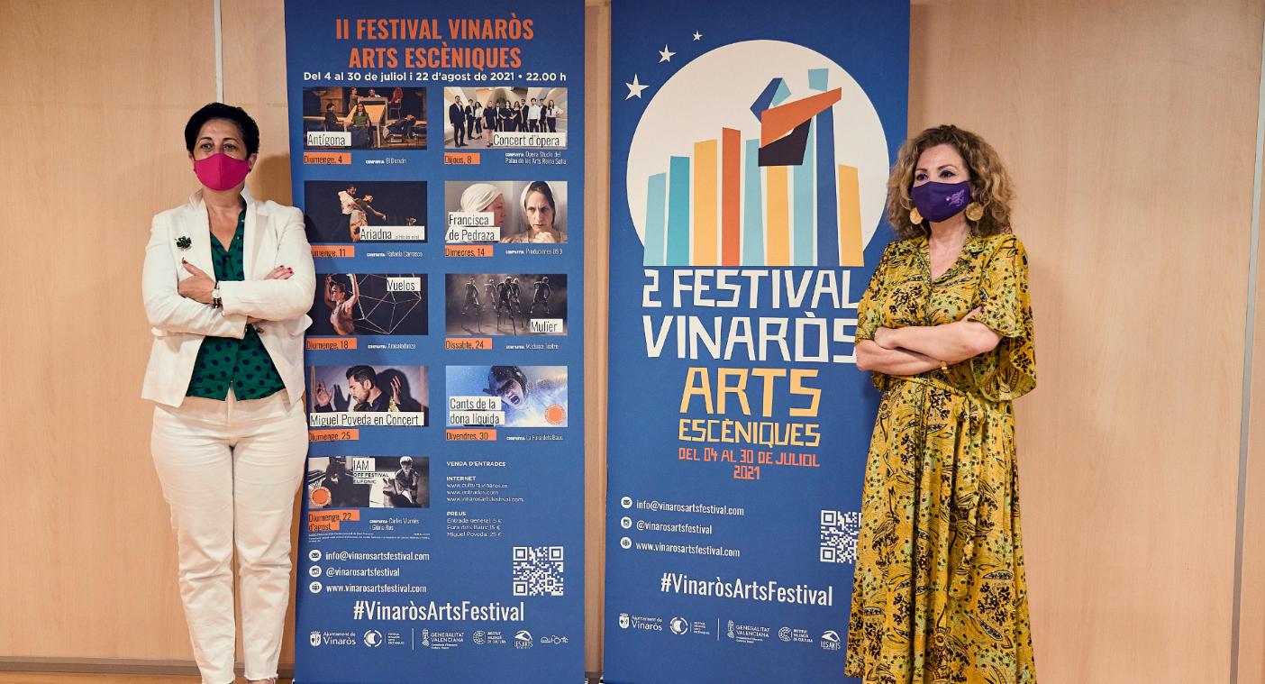 Cultura presenta la segona edició del Festival Vinaròs Arts Escèniques