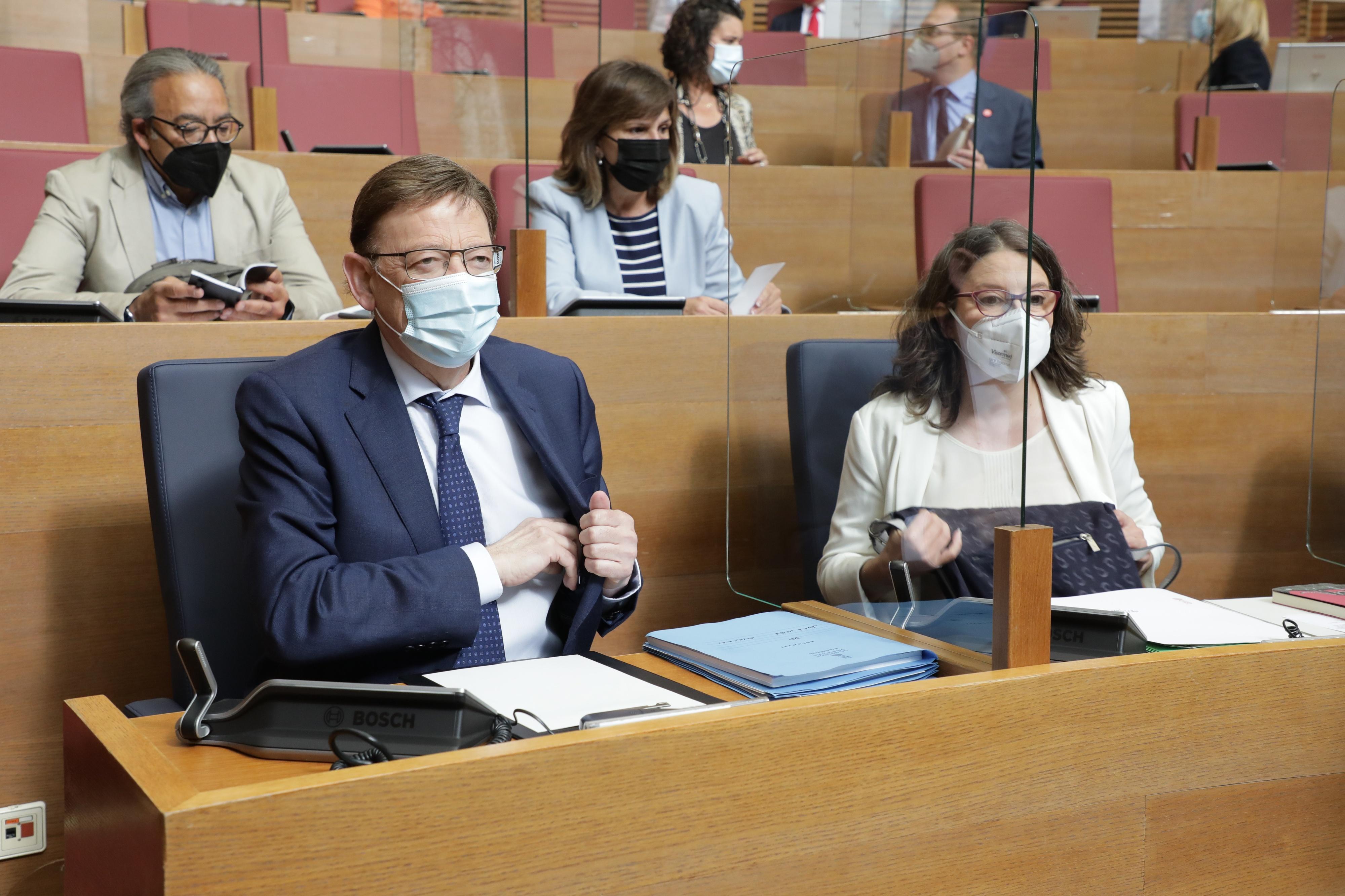 Puig anuncia un mecanisme per a flexibilitzar la cita de vacunació i adaptar-la a les vacacions