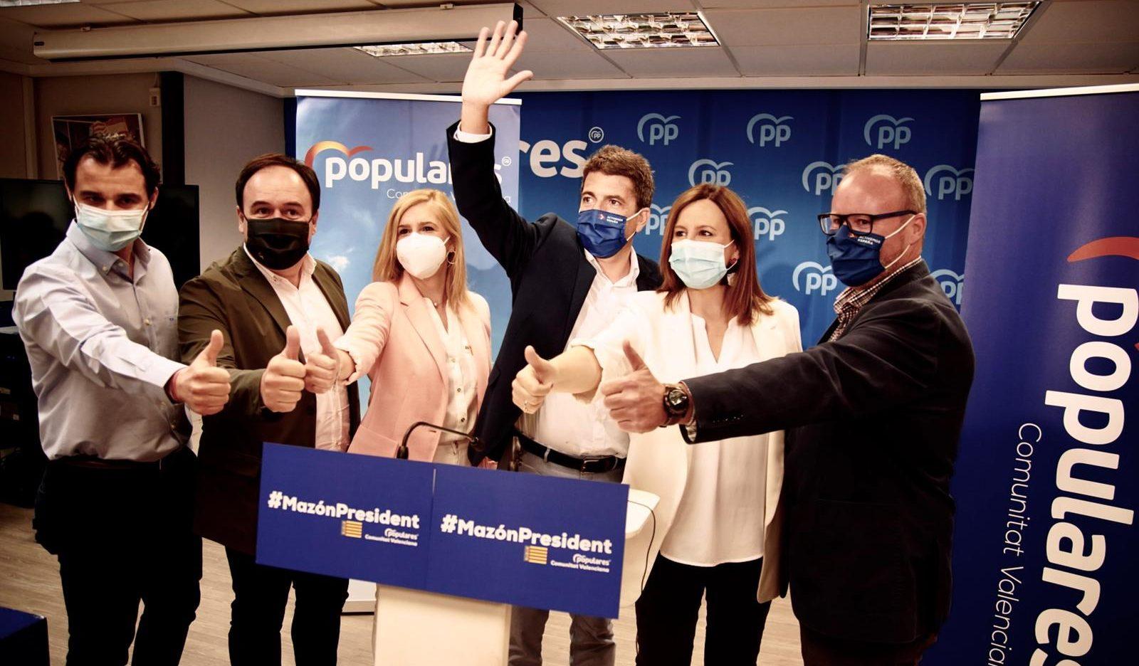 CarlosMazón, candidat únic a presidir elPPCVen el XV Congrés autonòmic