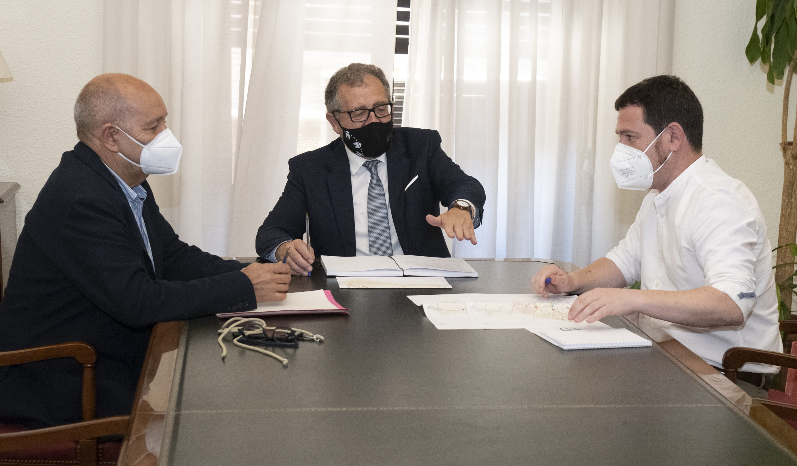 Martí i Garcia celebren la 'complicitat' de la Generalitat amb el Pla Director de l'Aigua de la província