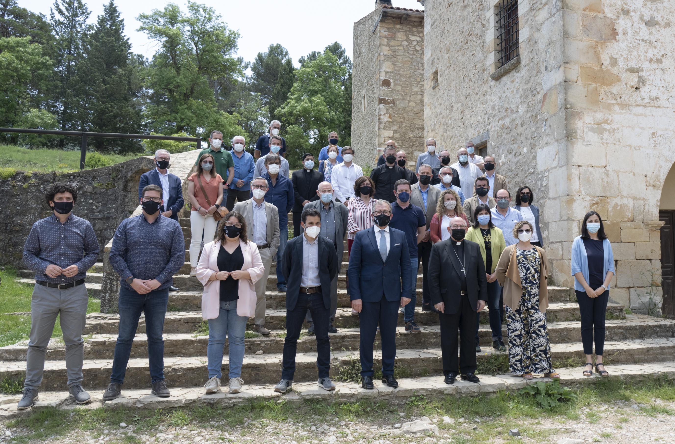 Primer pas per a la rehabilitació de Sant Joan de Penyagolosa
