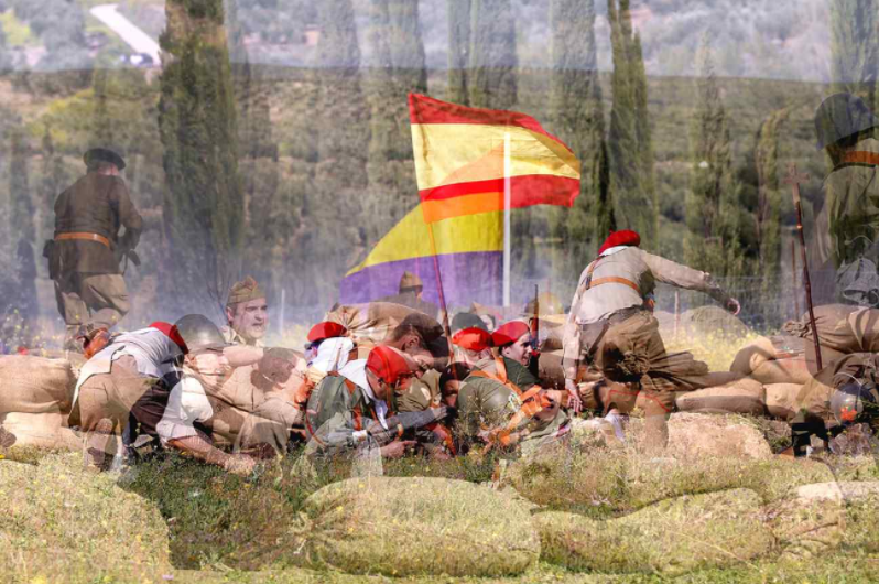 JuliánBarónrecrea episodis de la Guerra Civil en la mostra 'Ellaberintomágico', a l'Espai Les Aules