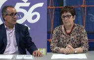 Josefa Gondomar i Antonio Sebastià, presidenta i director, de Caixa Vinaròs a L'ENTREVISTA de C56 08-06-2021